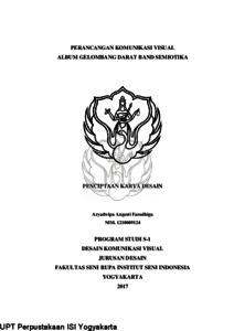 Perancangan Komunikasi Visual Album Gelombang Darat Band Semiotika